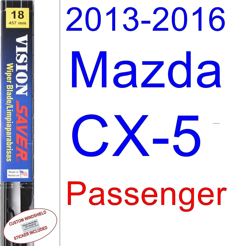 Amazon.com: 2013-2016 Mazda CX-5 Wiper Blade (Rear) (Saver Automotive Products-Vision Saver) (2014,2015): Automotive