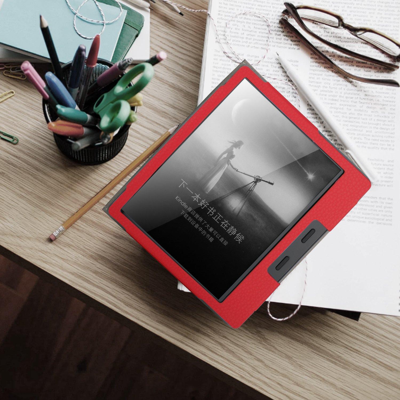 ELTD Custodia Cover per Nuovo Kindle Oasis 2017//2019 Verde Book-Style Case Custodia Pelle PU con Front Prop Stand Copertina Case Cover per Nuovo Kindle Oasis 2017//2019