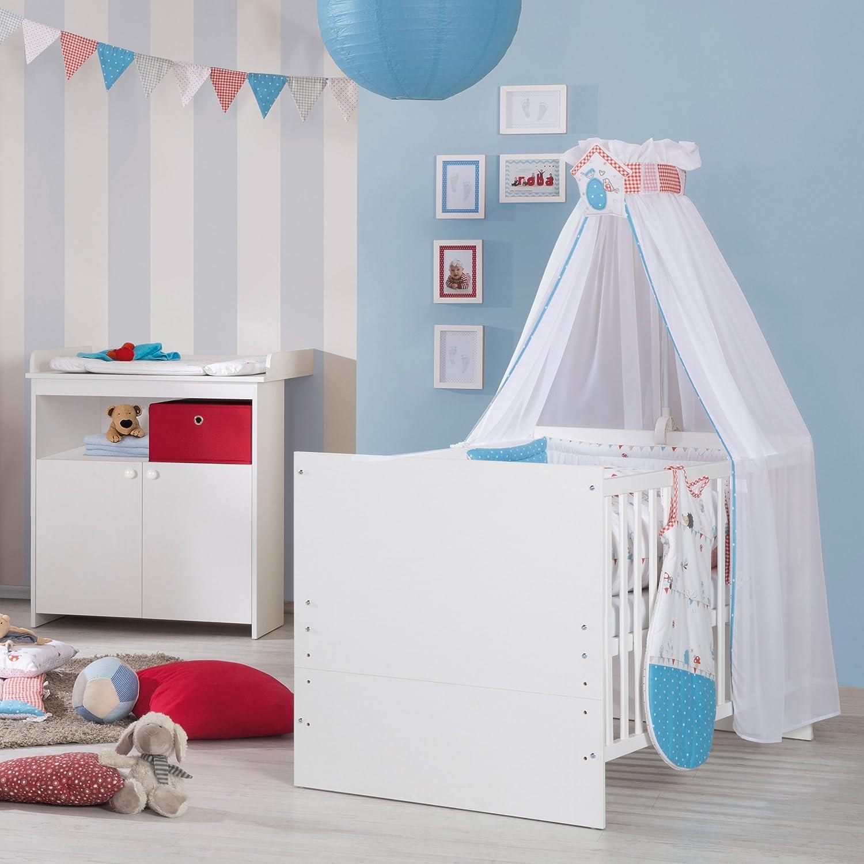 babyzimmer kinderzimmer wiki 1 in walnuss weiss 55. Black Bedroom Furniture Sets. Home Design Ideas