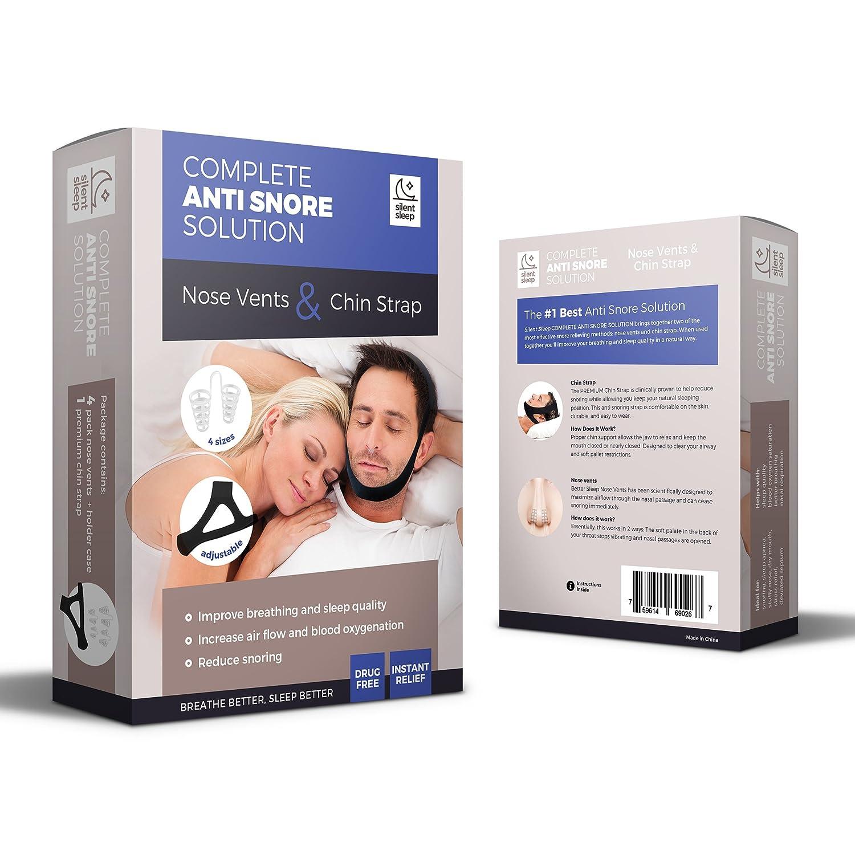 Solución completa schnarchstopper | schnarchband profesional y nasendilatator | Fácil Anti Antirronquidos ayuda para la congestión nasal., grabación de ...