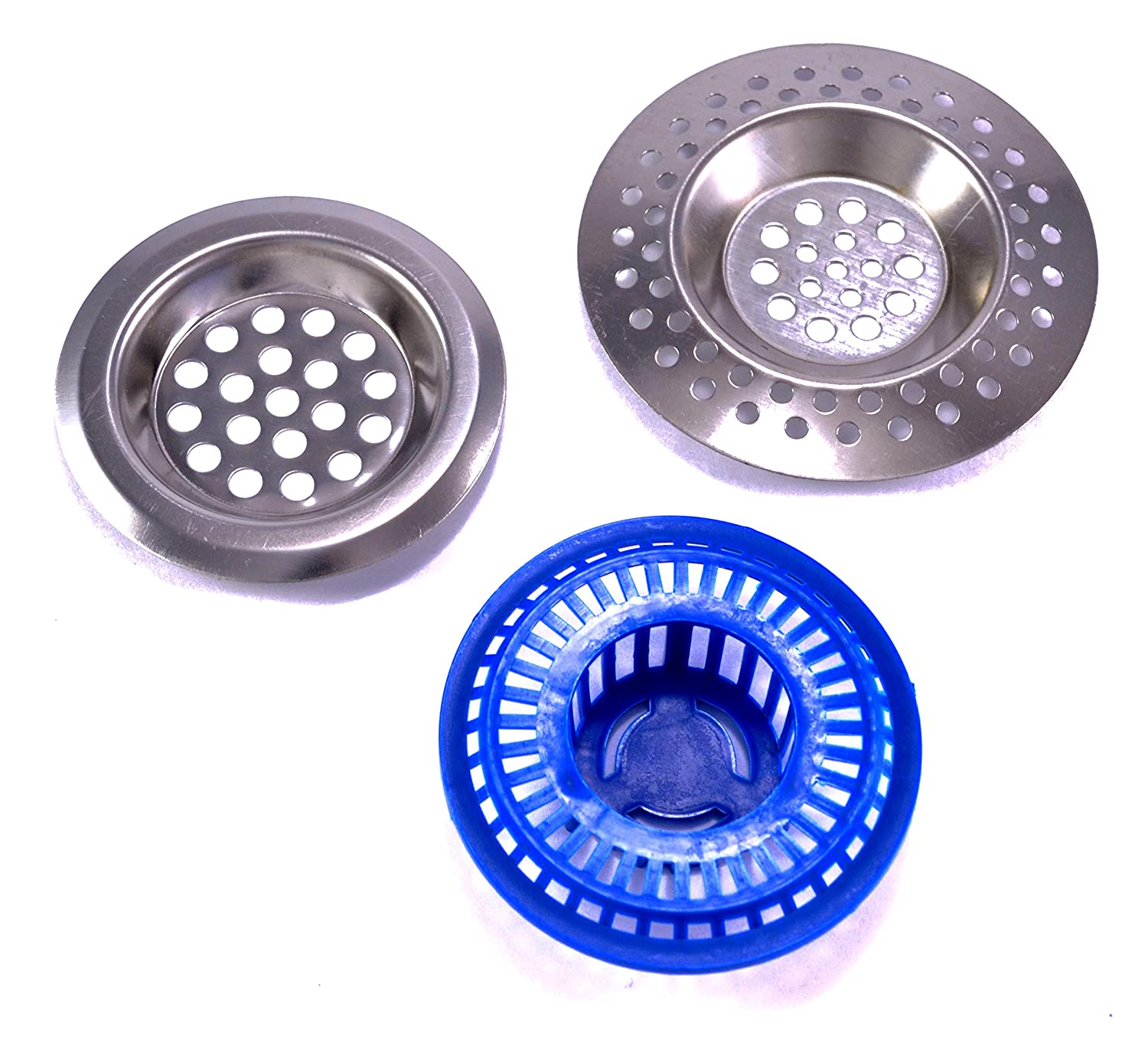 202041 Stainless steel metal sink drain covers 3//2,4