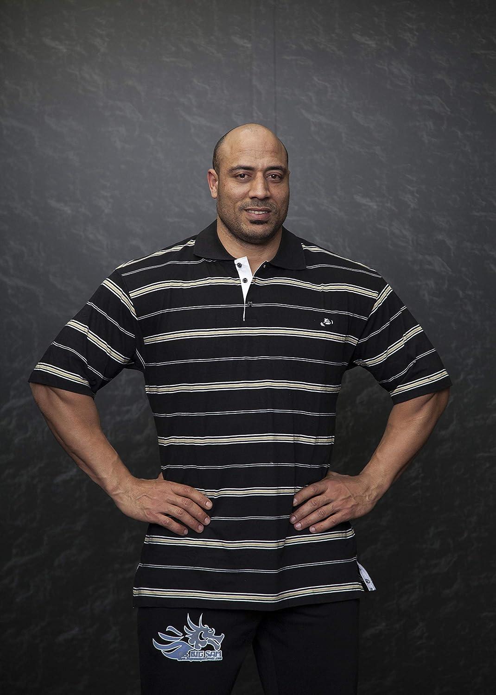 BIG SM EXTREME SPORTSWEAR Herren T-Shirt Stretch Shirt Bodybuilding Gym 2742