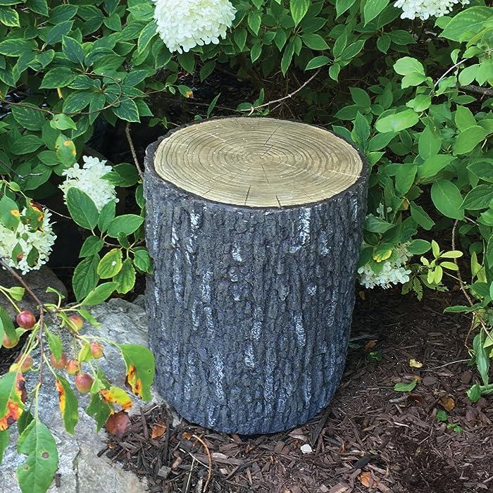 Aquascape Faux Oak Stump Cover for Yard, Landscape, and Garden   78259