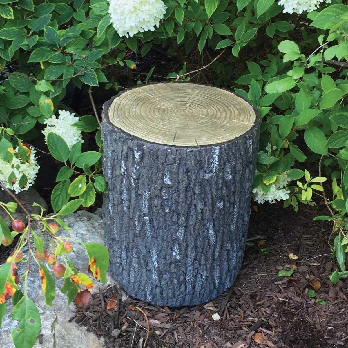 Aquascape Faux Oak Stump Cover for Yard, Landscape, and Garden | 78259