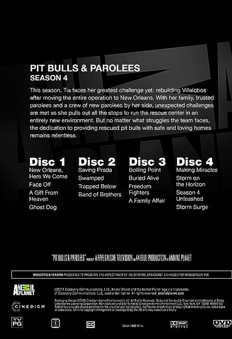 Pit Bulls And Parolees Season 4 Amazon Co Uk Dvd Blu Ray