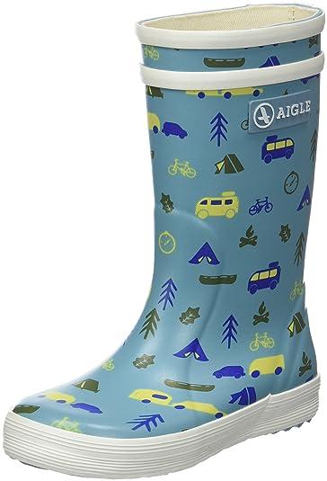 Aigle Unisex-Kinder Lolly Pop Klassische Stiefel, Blau (Nileblue/Wildcamp  001)