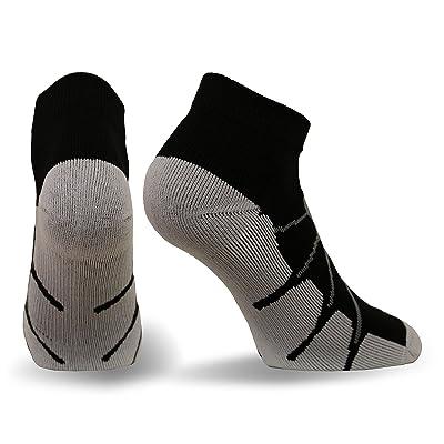 Sox Sport Plantar Fasciitis Arch Support Low Cut Running, Gym Compression Socks, SS4011