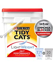 Tidy Cats 24/7 Performance Lightweight Cat Litter for Multiple Cats - 7.71 kg
