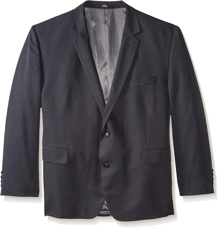 Haggar Men's Big-Tall Performance Tic-Weave Classic-Fit Suit Coat at  Men's Clothing store