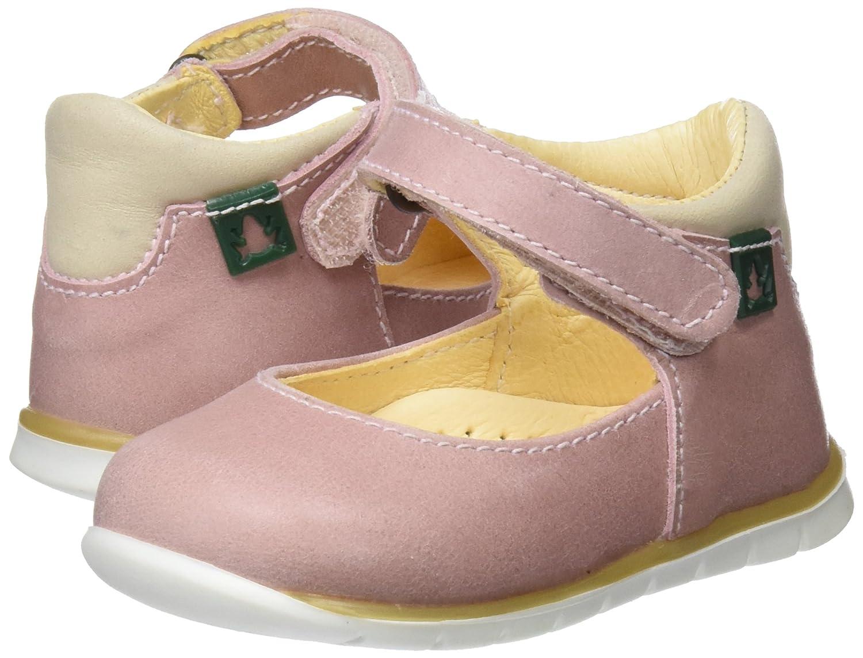 El Naturalista Kids Baby Mädchen E208 Durchgängies Plateau Sandalen, Pink (Rose), 20 EU