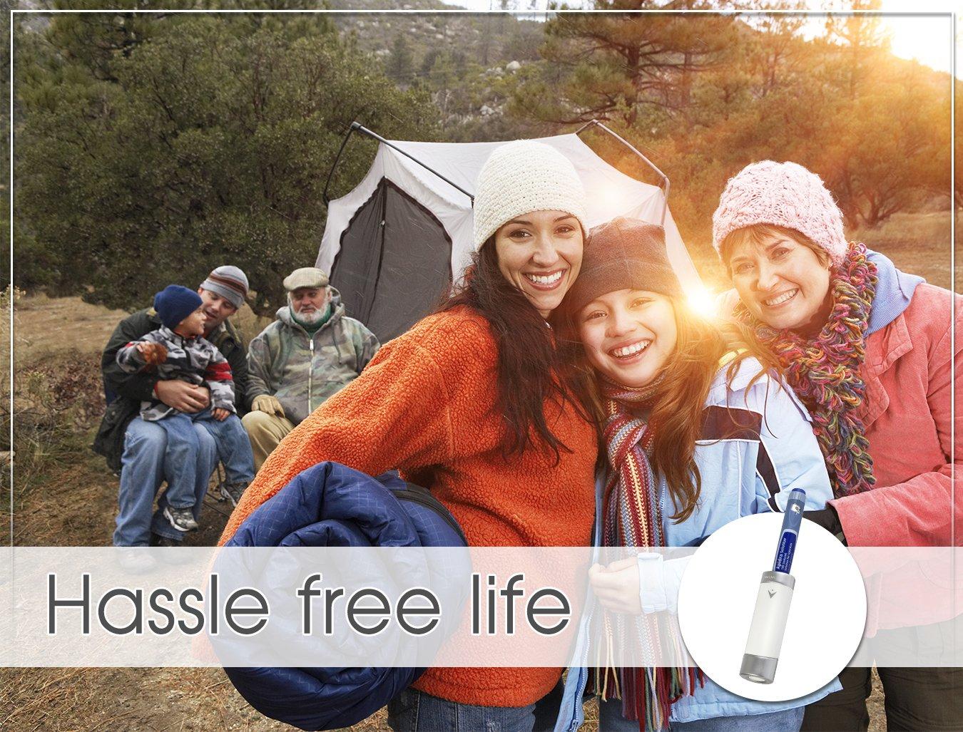 Small Reusable Insulin Cooler Pen-Cap by TempraMed | Vivi CAP1 for Sanofi SoloStar: Lantus, Apidra | Keeps Insulin Cool | for Daily use and Travel | FDA Registered by VIVI CAP (Image #7)