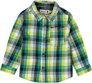 boboli 336046 Camisa, Multicolor (Cuadros Multicolor 9903), 86 (Tamaño del Fabricante:18M) para Bebés: Amazon.es: Ropa y accesorios
