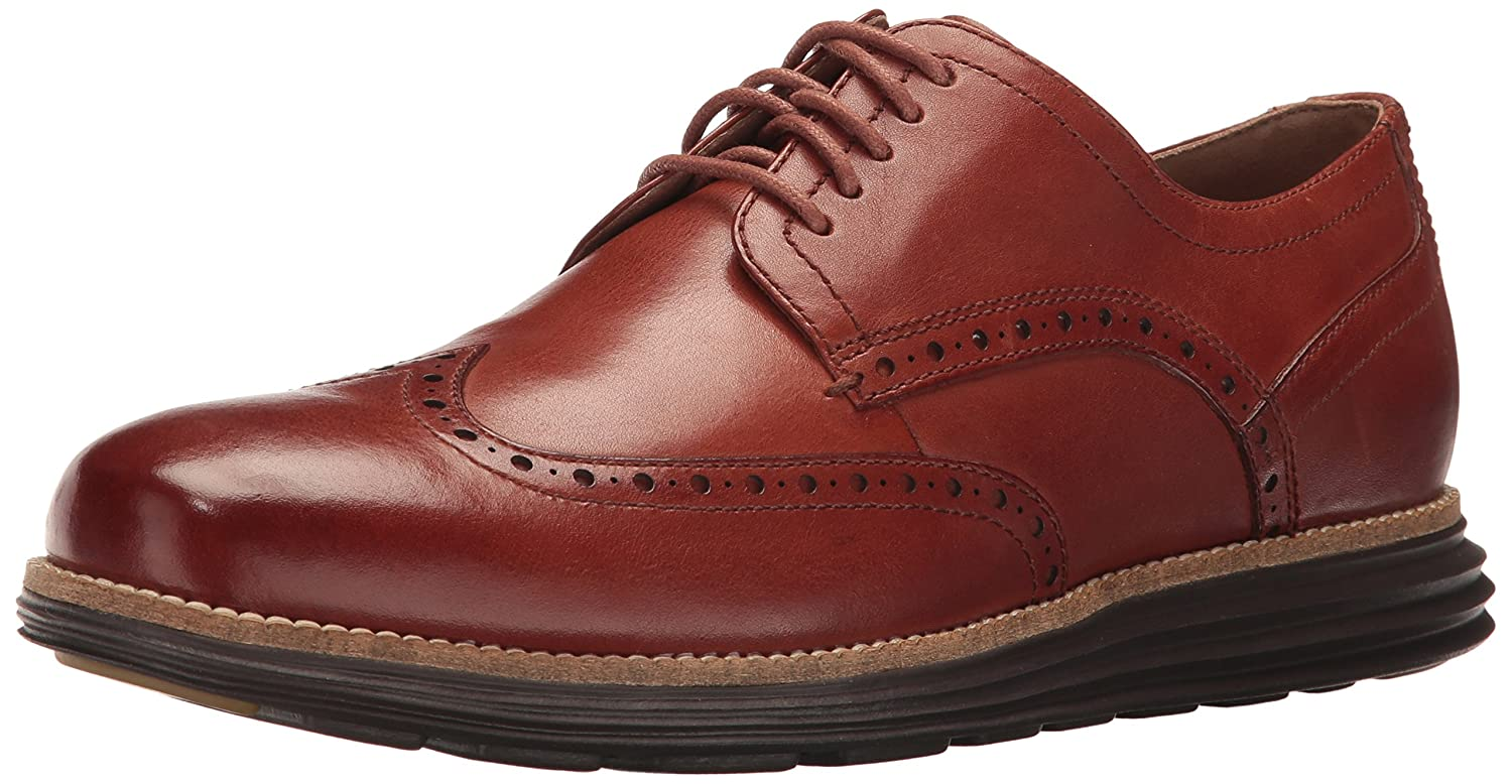 Woodbury Java Cole Haan Men's Original Grand Shortwing Oxfords