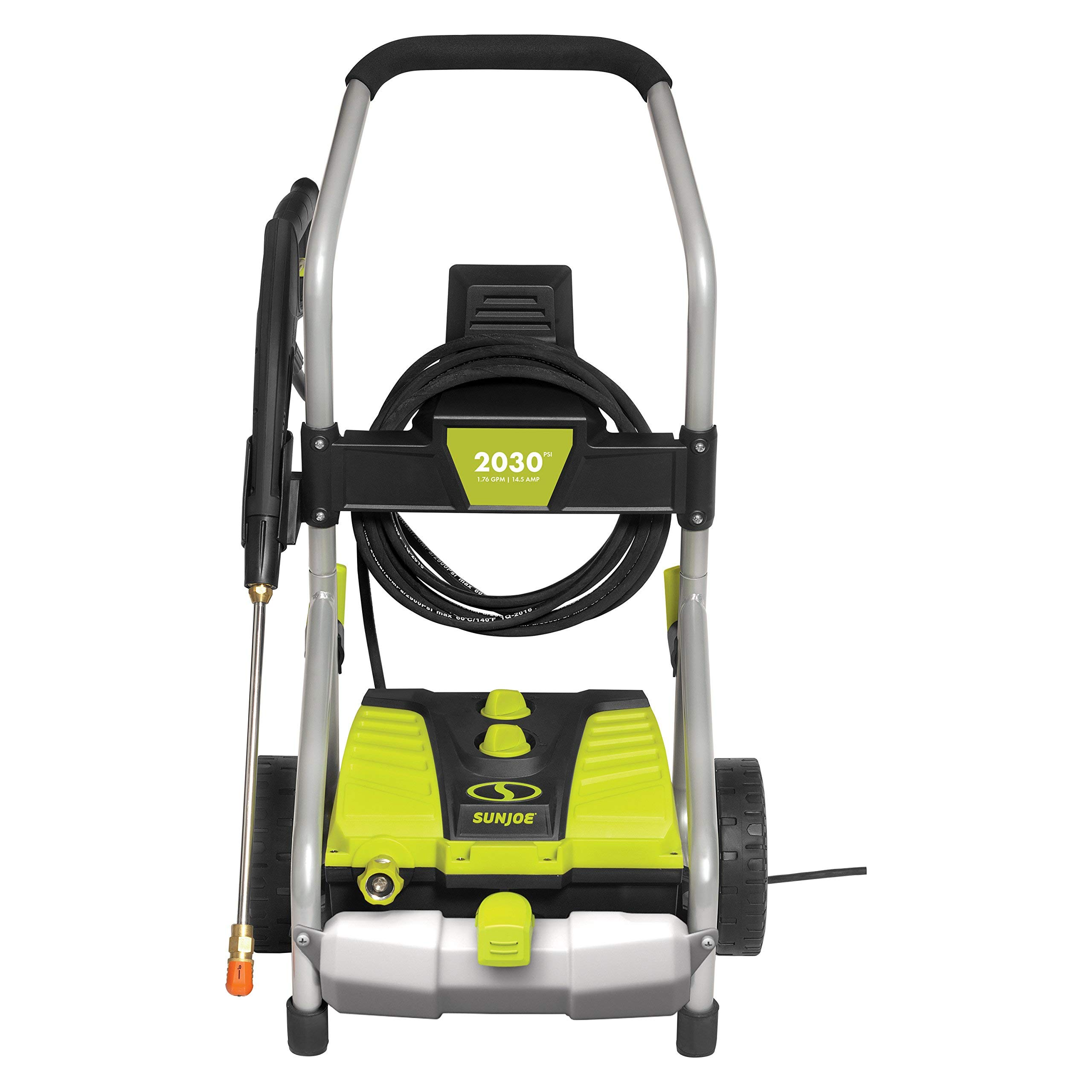 Sun Joe SPX4000 2030 PSI 1.76 GPM 14.5-Amp Electric Pressure Washer w/ Pressure-Select Technology (Renewed)