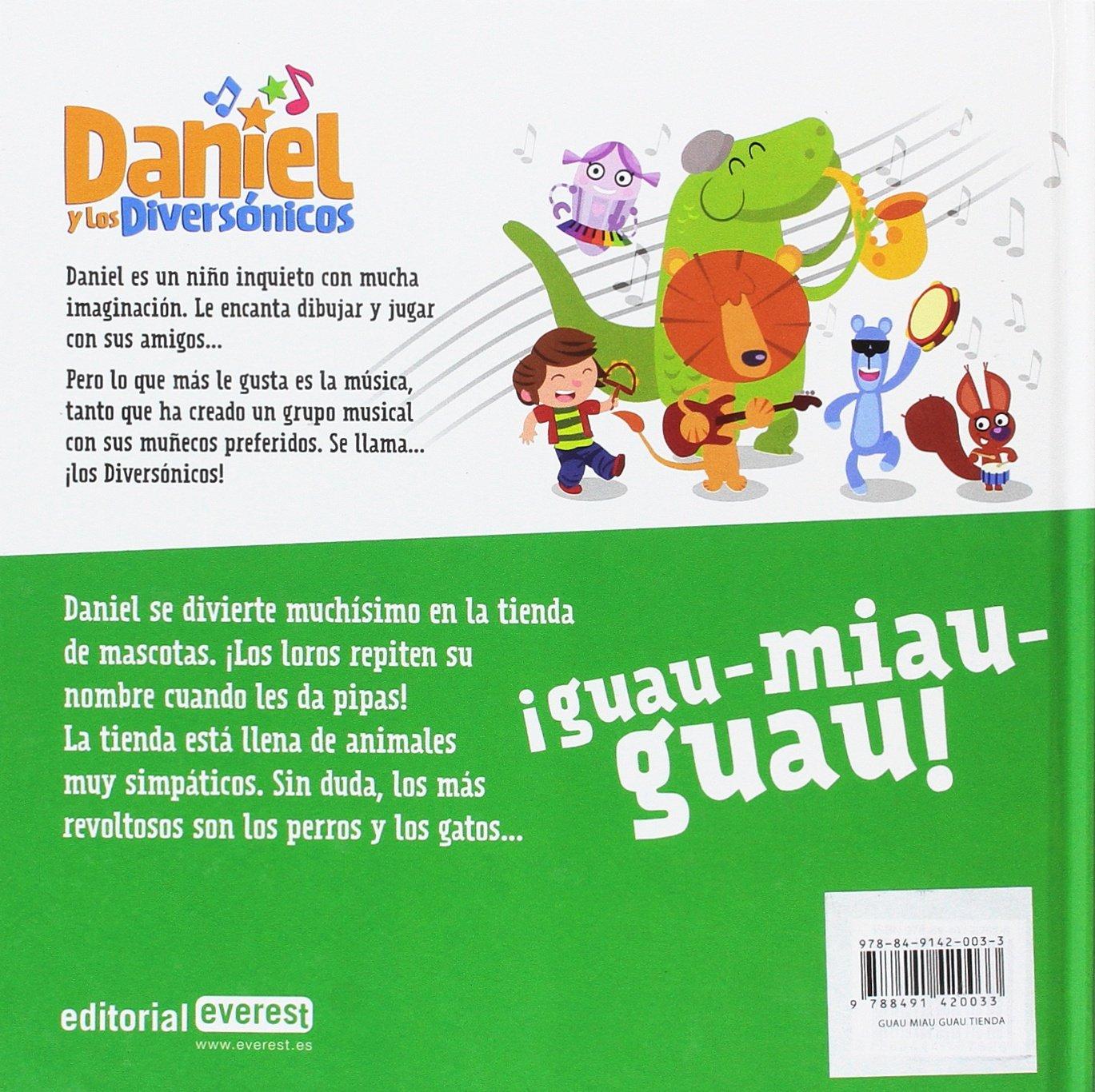 GUAU MIAU GUAU TIENDA DE ANIMALES LECTURA: AA.VV.: 9788491420033: Amazon.com: Books