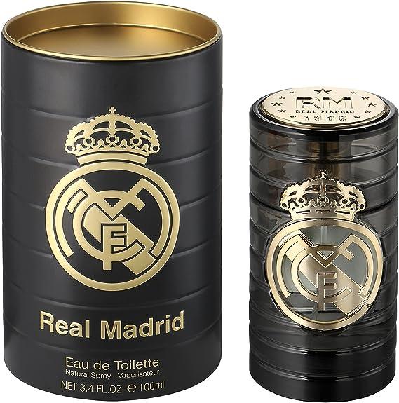 Real Madrid Eau de Toilette para Hombre, 100 ml: Amazon.es: Belleza