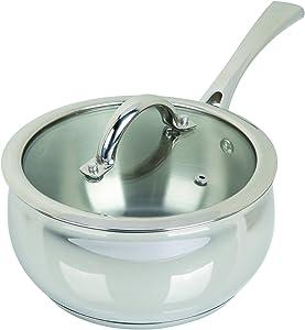 Oster 89462.02 Derrick 2 Qt Sauce Pan Stainless Steel, 2 Quart, Sauce Pan