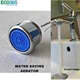 Water Saving Aerator with Dual Threaded Shell: 6 LPM Foam Flow Tap Filter