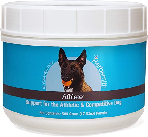 Herbsmith Athlete Canine Endurance Supplement for Working and Agility Dogs For the Canine Athlete 500g Powder