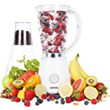 Duronic BL4 White 1.5 Litre Jug Blender and Multi-Mill. 2 Speed efficient 400W motor - pulse function