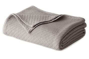 thermal cotton blanket. Cotton Craft - 100% Soft Premium Thermal Blanket King Grey Snuggle In L