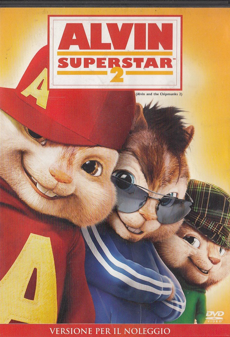 ALVIN SUPERSTAR 2 (2010) DVD EX NOLEGGIO: Amazon.it: Film e TV