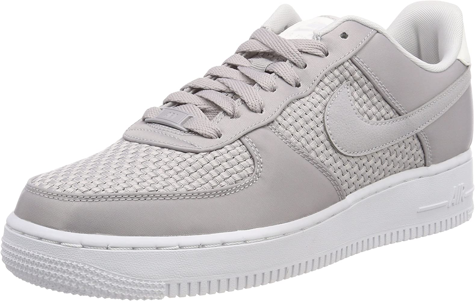 ab86a27c24783 Nike W Air Force 1 '07 Se Chaussures de Gymnastique Femme, Gris Atmosphere  Grey