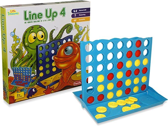 US Connect 4 Game Classic Master Foldable Children Line Up Row Board Toys Gift