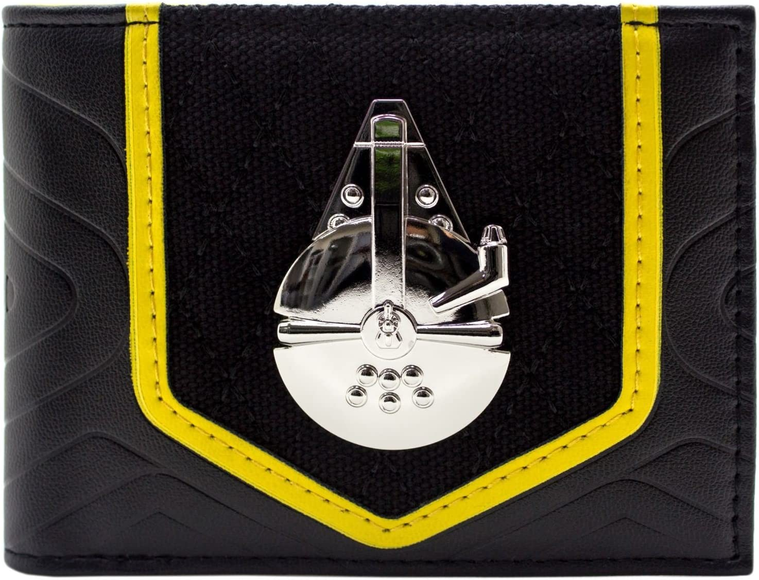 Star Wars MILLENNIUM FALCON Wallet Bifold Purse Leather Money Bag Card Holders