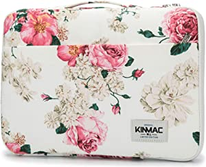 "Kinmac 360° Protective 13 inch-13.5 inch Waterproof Laptop Case Bag Sleeve with Handle for 13.3"" MacBook Air 