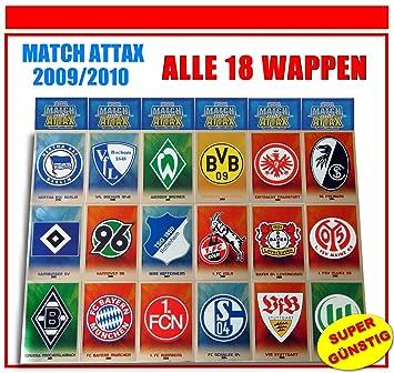 Unbekannt Match Attax 2009 2010 Topps Fussball Bundesliga