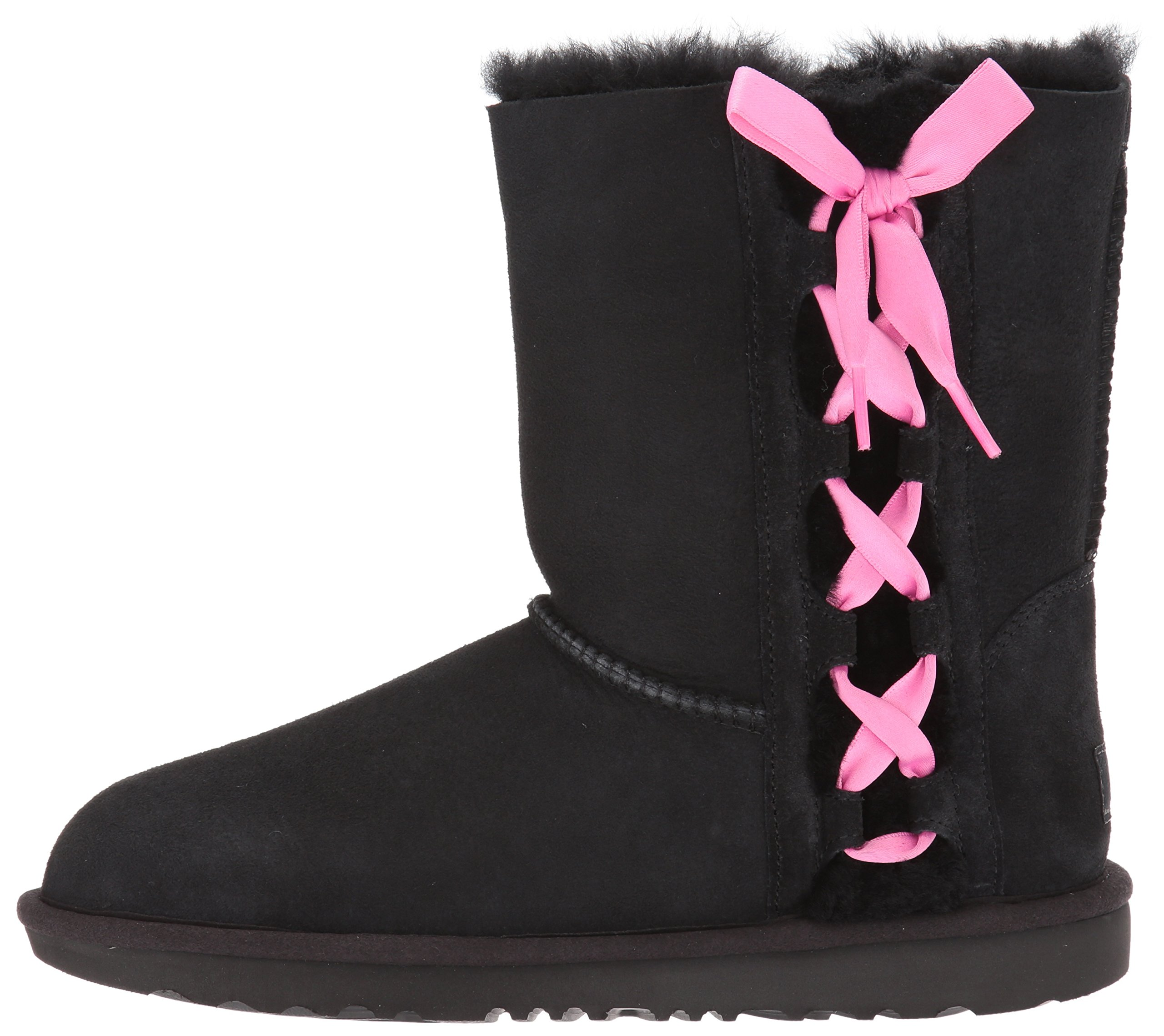 UGG Girls K Pala Pull-on Boot, Black, 1 M US Little Kid by UGG (Image #5)