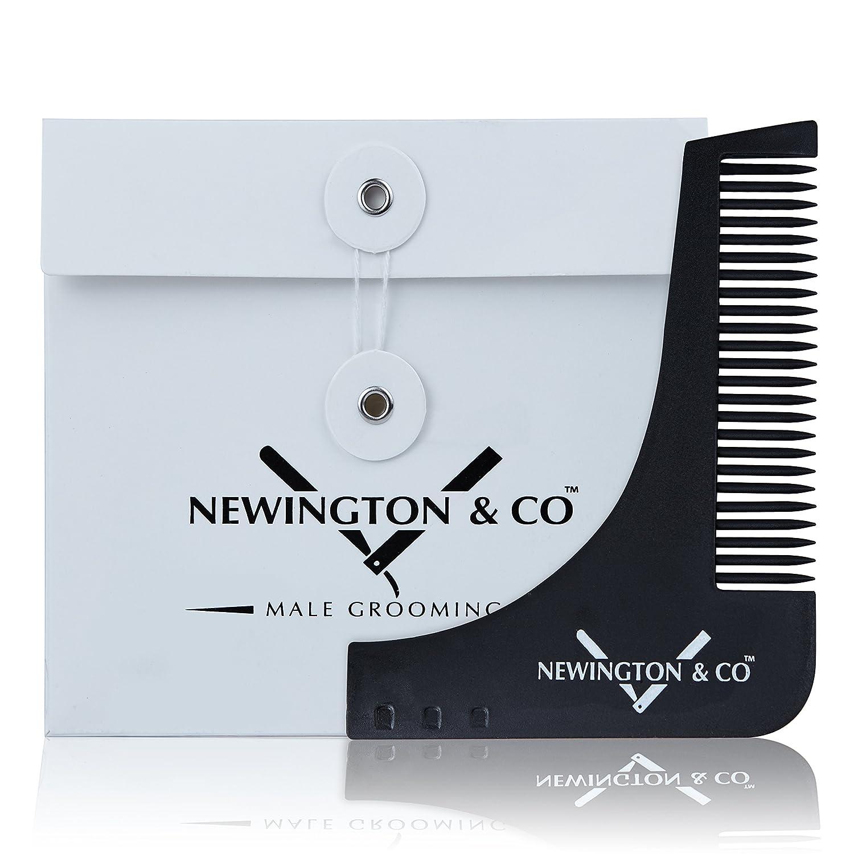 Premium Bart Schablone & Beard Styling Werkzeug mit ...