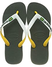 58ad46669d2a Havaianas Unisex Adults  Brasil Mix Flip Flops