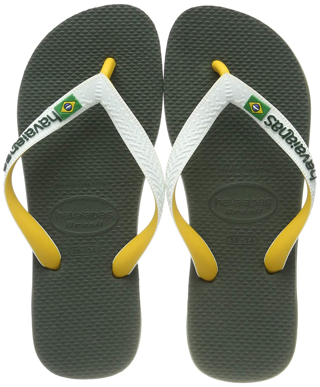 1ee8c36ec Havaianas Unisex Adults  Brasil Mix Flip Flops  Amazon.co.uk  Shoes ...