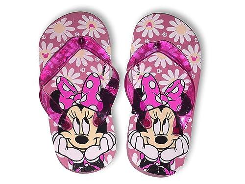 cf38b55f4641c Amazon.com | Minnie Mouse Flip Flops Summer Sandals Toddler Girl ...