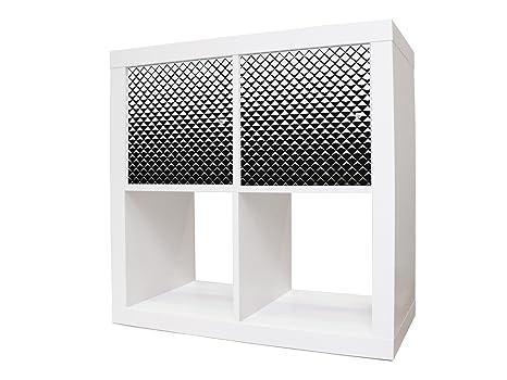 Mobili Credenza Ikea : Sticker adesivi per mobili ikea expedit kallax credenza con