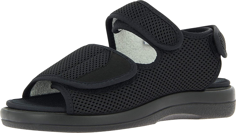 VAROMED Mujer,Hombre Sandalia de Velcro, Unisex-Adulto Calzado de Salud,cómodo