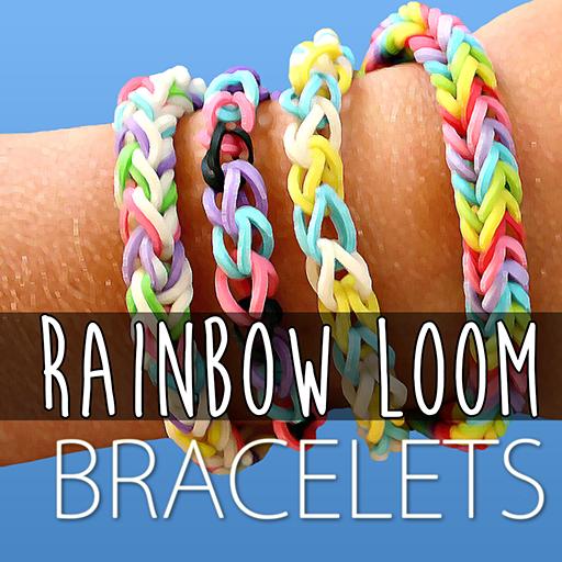 rainbow loom video tutorials bracelet series top rubber