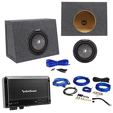 amazon com package kicker 43cwr84 600w 8 dual voice coil 4ohm car rh amazon com Clarion Car Stereo Wiring Diagram Series Wiring Speakers in Car