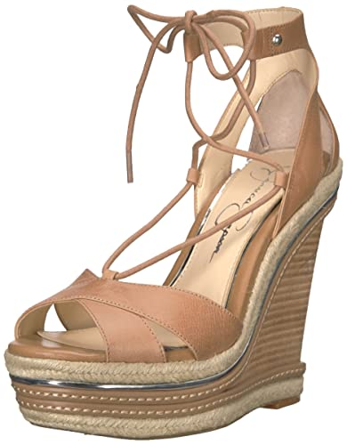 38c205d1f5 Amazon.com | Jessica Simpson Women's Adyson Wedge Sandal | Platforms ...