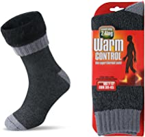 Women Men Winter Warm Wool Pile Lined Insulated Thermals Socks Thick Boots Heat Socks Cold Weather