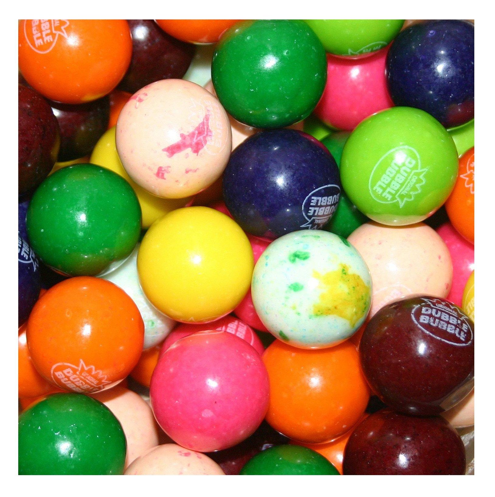 Dubble Bubble Special Mix 10 Color/Flavor Assorted Gumballs - 24mm or 1 inch 850 ct. by Dubble Bubble (Image #1)