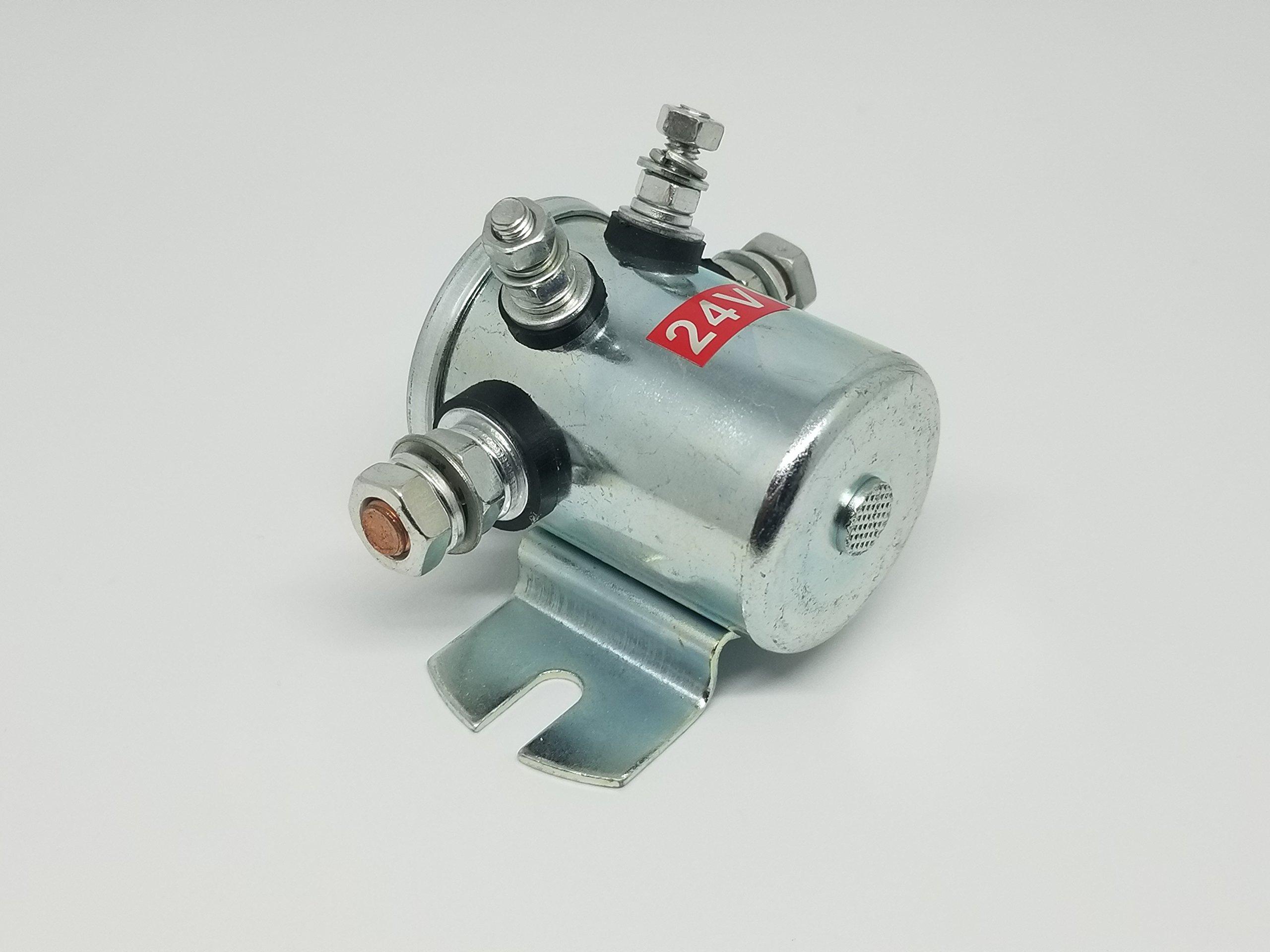 3740073 Relay, 24V   Fits JLG by PartsFlo