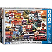 EuroGraphics Ford Mustang Advertising Collection 1000-Piece Puzzle