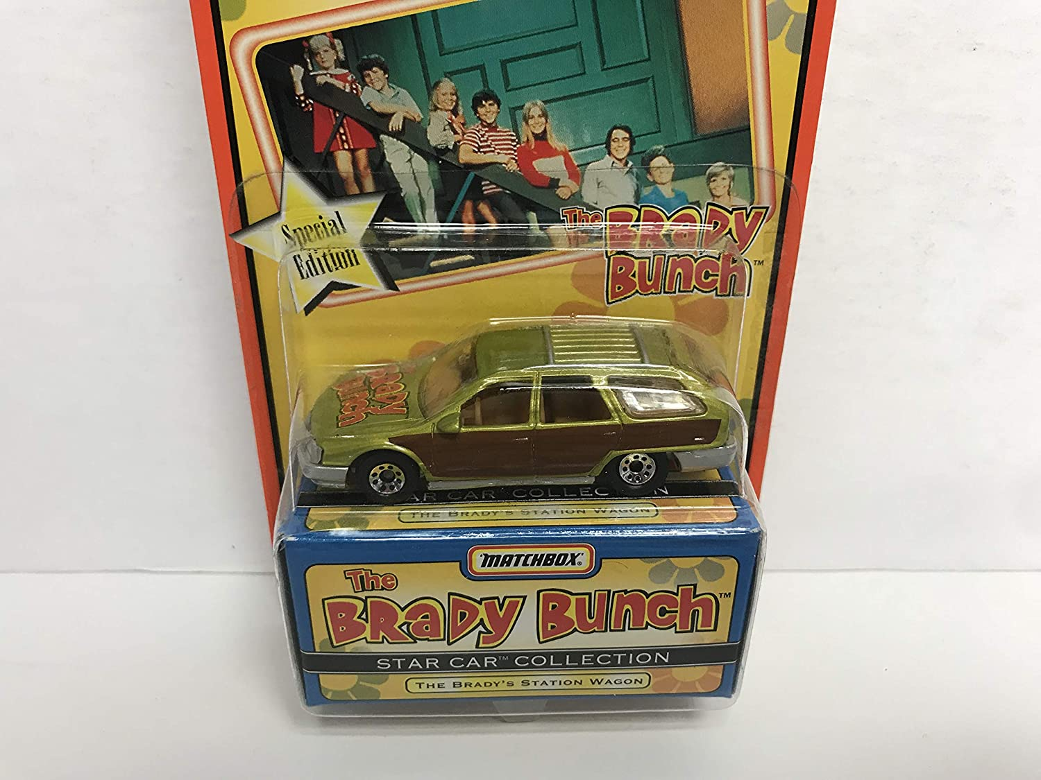 THE BRADY BUNCH Station Wagon special edition MATCHBOX Star Car Collection diecast 1/64 scale