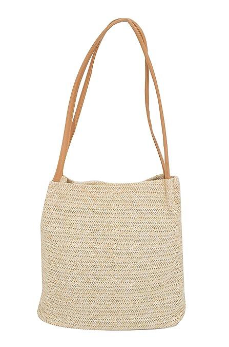 Amazon.com: ovov Mujer de mujer verano playa bolso de mano ...