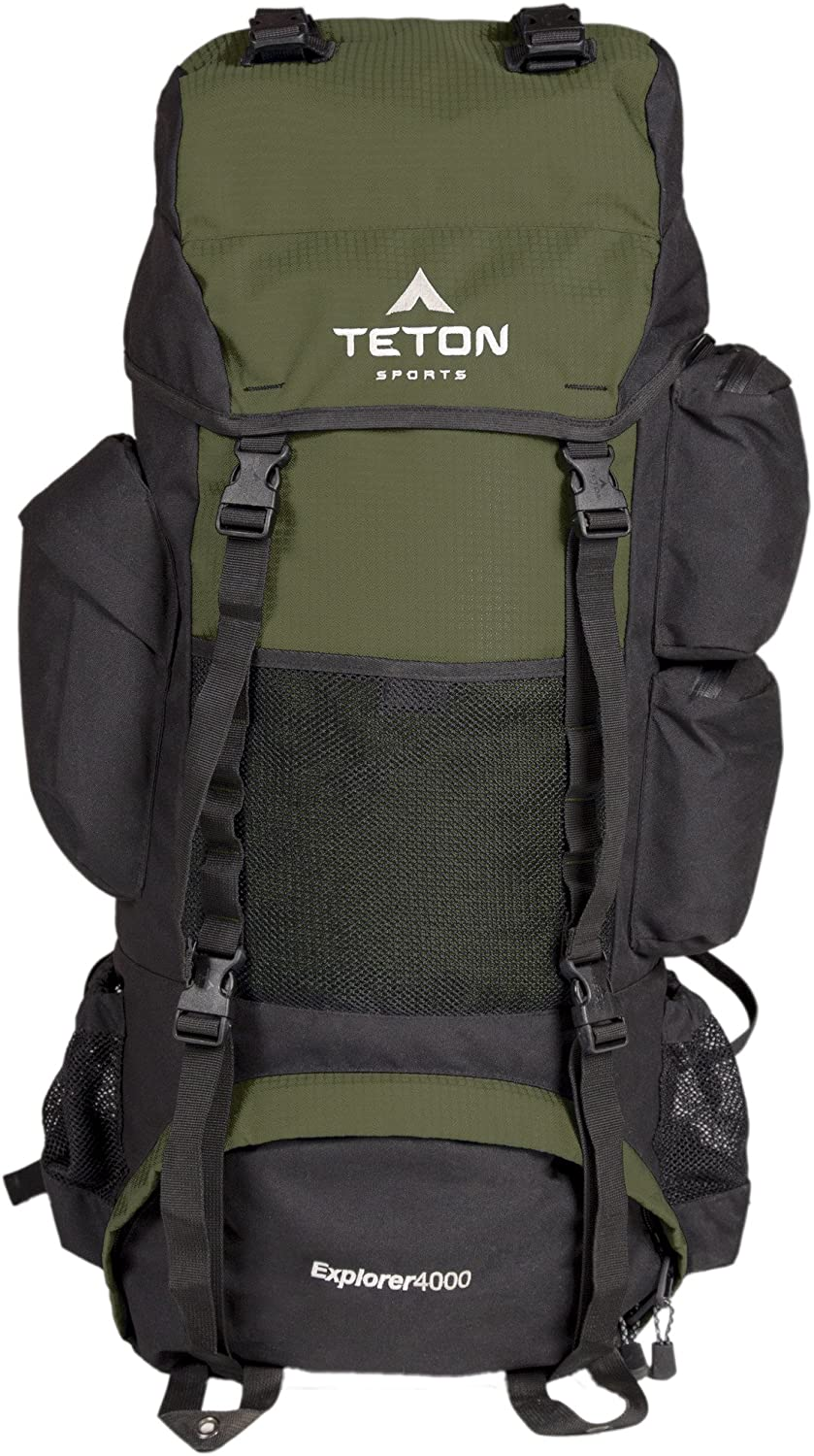 TETON Sports Explorer 4000 Internal Frame Backpack High-Performance Backpack for Backpacking, Hiking, Camping
