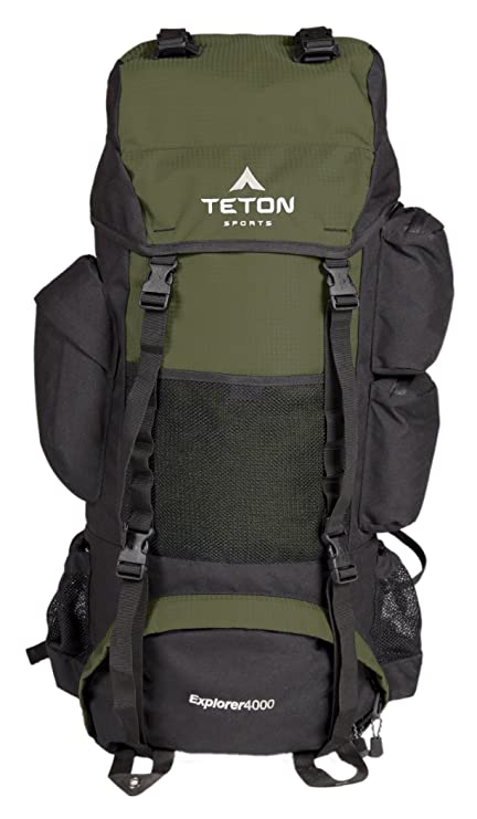 c08f7cb3c1 TETON Sports Explorer 4000 Internal Frame Backpack  High-Performance  Backpack for Backpacking