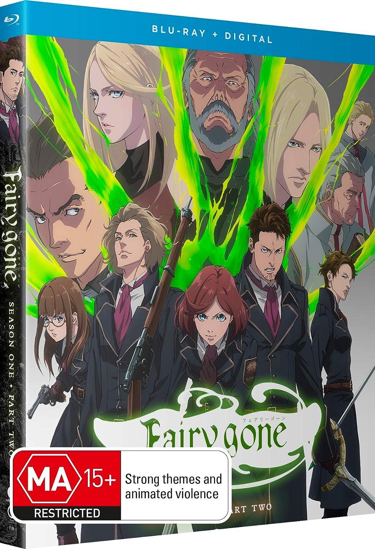 Fairy gone Season 1 Part 2 Blu-ray (Dual Audio)
